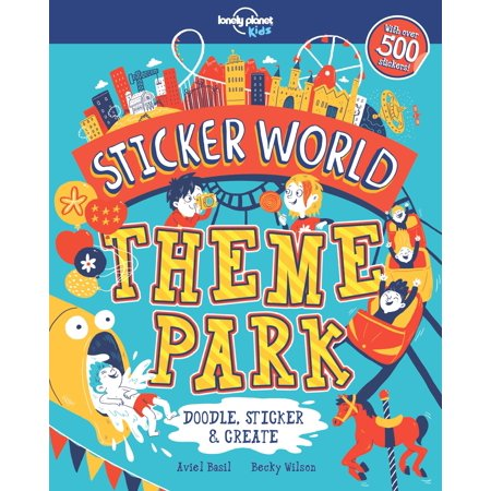 Sticker World: Theme Park (Theme Park World Halloween World)