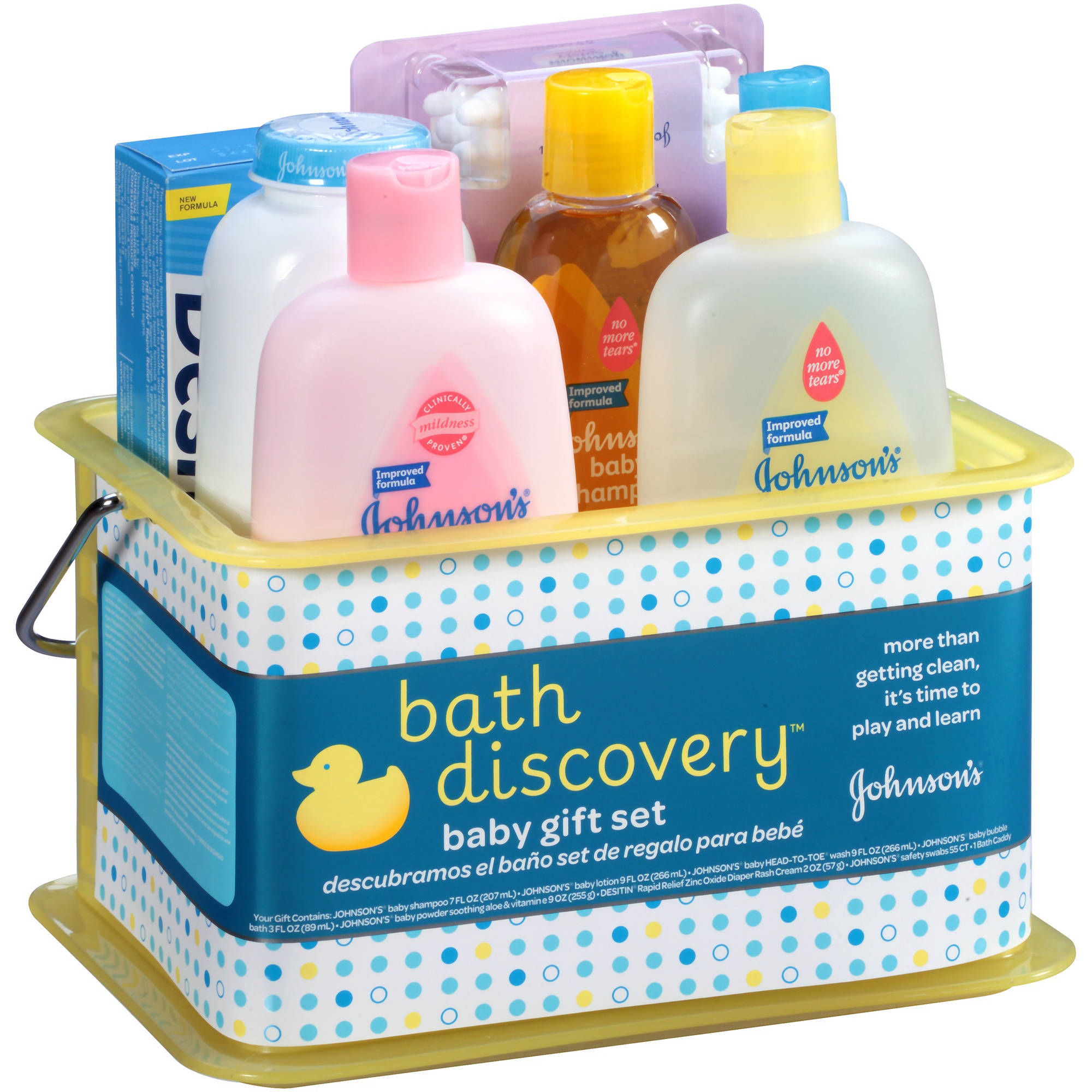 Baby Gift Bath Sets : Johnson s bathtime gift set items pcs newborn baby