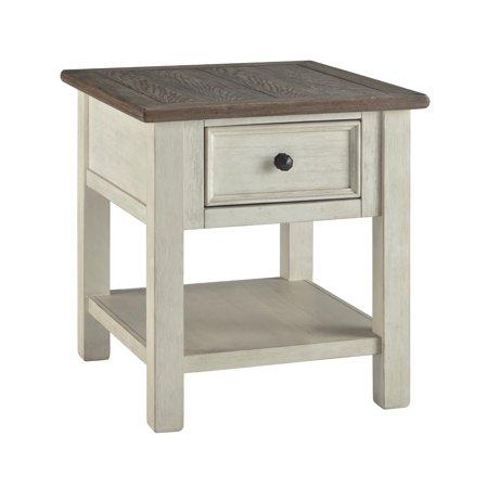 Signature Design by Ashley Bolanburg Rectangular End - Rectangular Extending Table