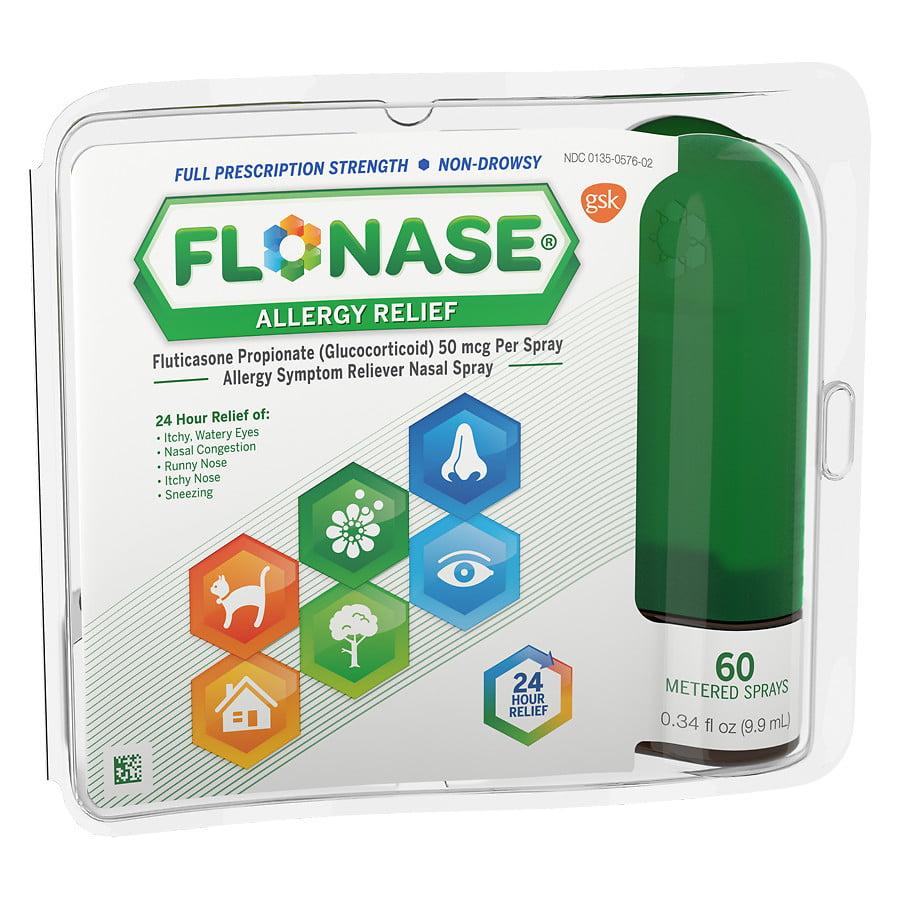 Flonase Allergy Relief Spray 60 metered sprays0.34 fl oz(pack of 1)