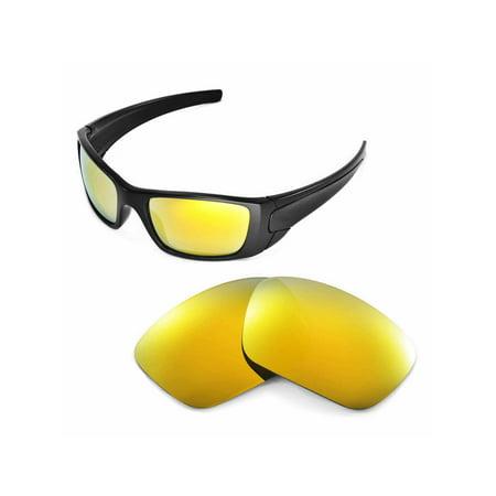 1efc8de519 Walleva - Walleva 24K Gold Polarized Replacement Lenses for Oakley Fuel  Cell Sunglasses - Walmart.com