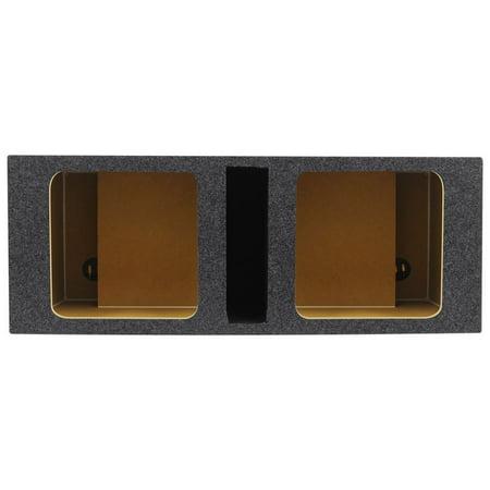 """Rockville RDVK10 Dual 10"""" Solo Baric L7/L5/L3 Vented Square Sub Enclosure Box"""