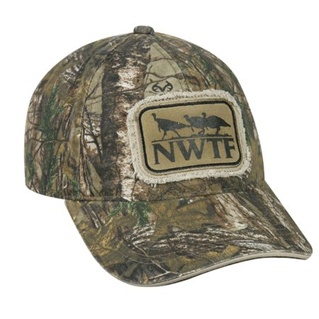 a967940cc49 NWTF Realtree Extra Water Print National Wild Turkey federation Camo  Hunting Hat - Walmart.com