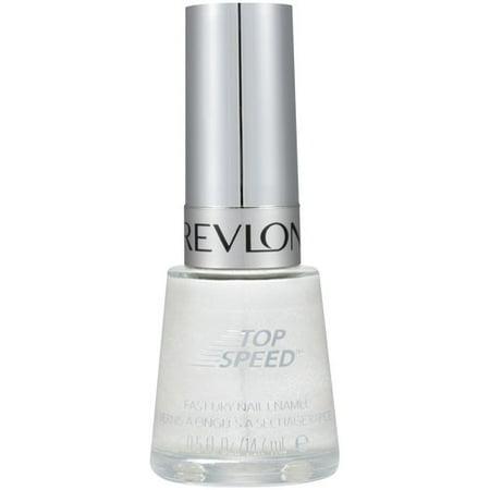 Revlon Top Speed Fast Dry Nail Enamel, 370 Snow Bunny, 0.5 fl oz ...