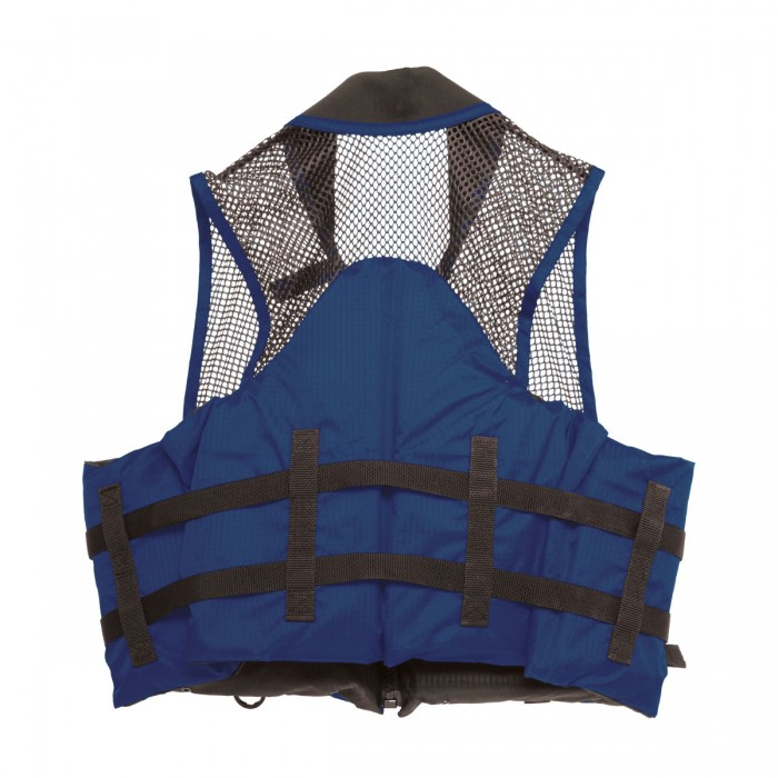 Deluxe Mesh Top Fishing Vest, XS, Navy by Overstock