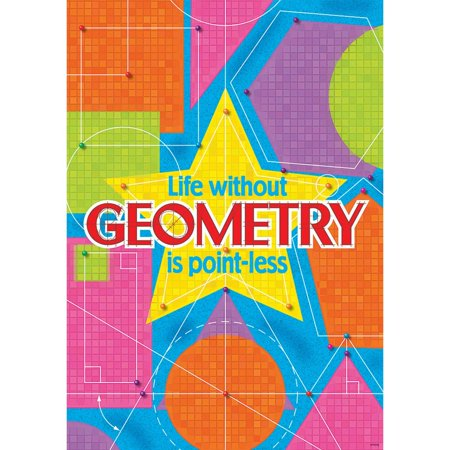 Life Without Geometry Is Poster (1 Piece), 13.38