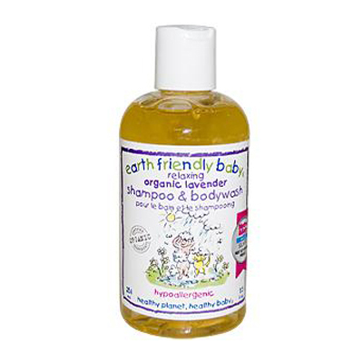 Earth Friendly Baby Shampoo and Body Wash Lavender - 8.5 fl oz