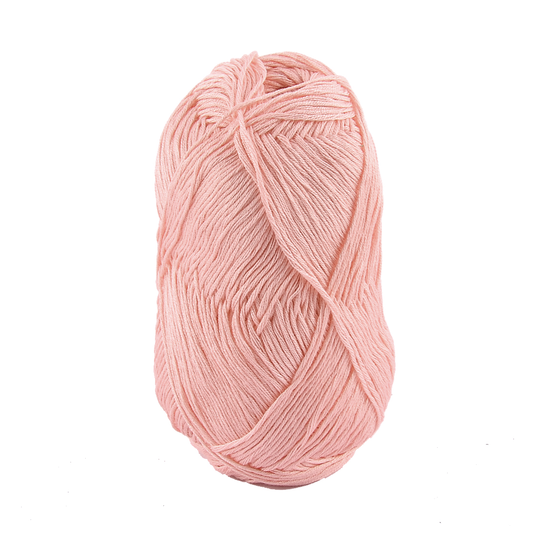 Cotton Hand Knitting Clothes Hat Sweater Crocheting Crochet Thread 50 Gram Pink
