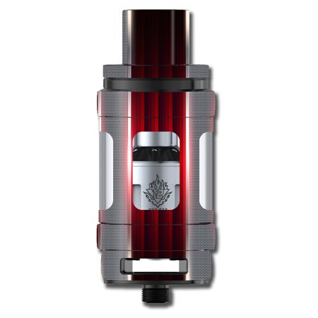 - Skins Decals For Smok Tfv12 Cloud King Tank Vape Mod / Red Metal Pattern Screen