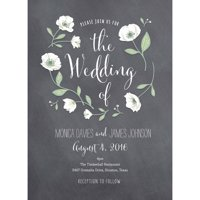 Product Image Wedding Flowers Standard Wedding Invitation