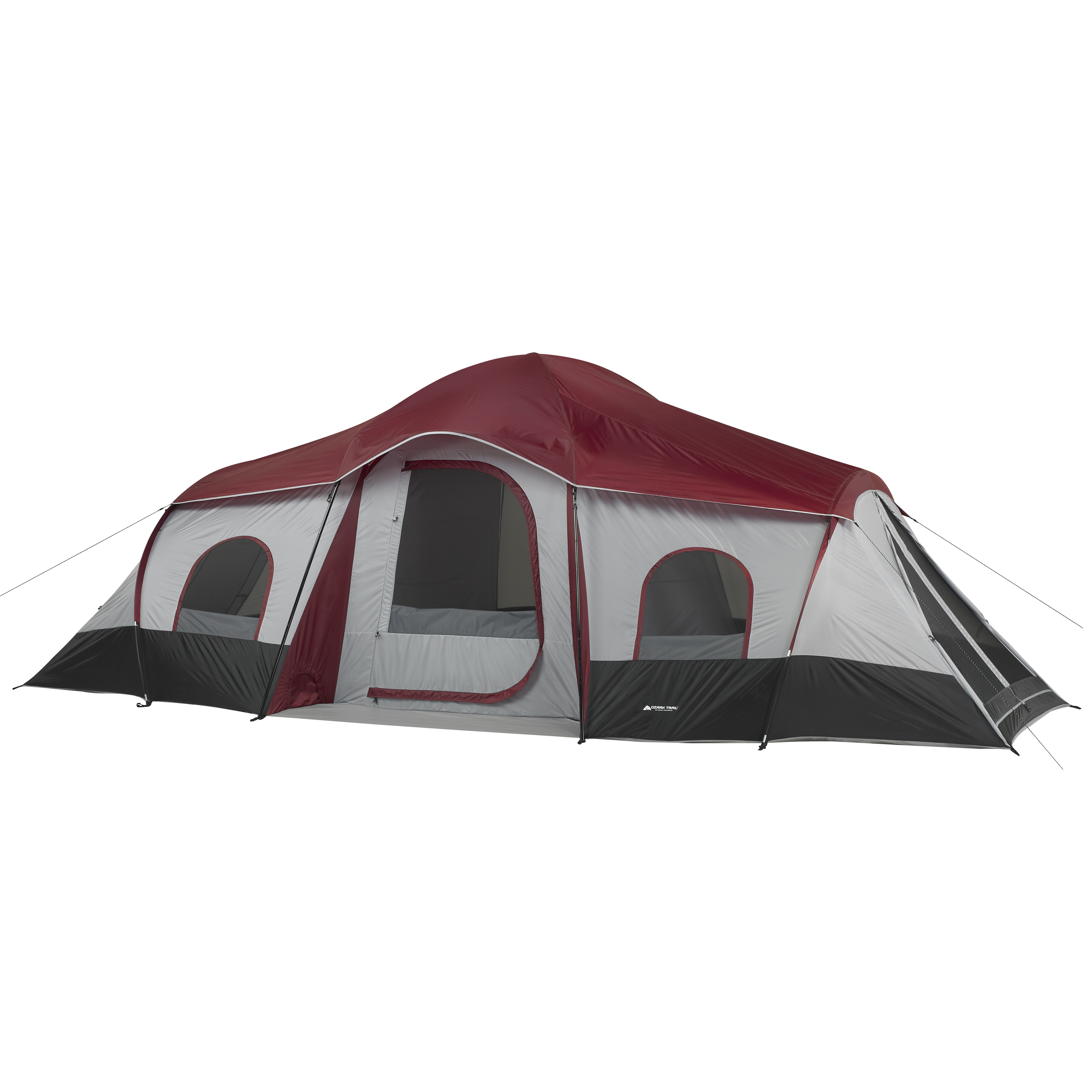 Ozark Trail 10-Person 3-Room Cabin Tent with side entrances by Campex (BD) Limited