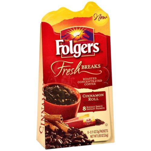 .85oz Folgers Cinnamon Fresh Breaks