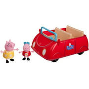 Peppa Pig Peppa's Red Car with 2 Exclusive Figures