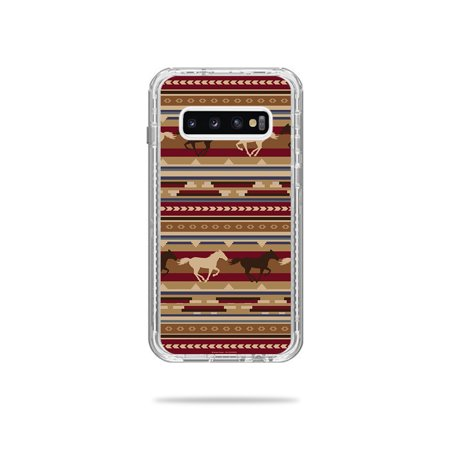Skin For Lifeproof Next Case Samsung Galaxy S10 - Western Horses | MightySkins Protective, Durable, and Unique Vinyl Decal wrap cover | Easy To Apply, Remove, and Change Styles (Horse Protective Case)