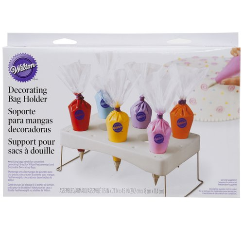Wilton 6-Cavity Cake Decorating Icing Bag Holder 417-1110