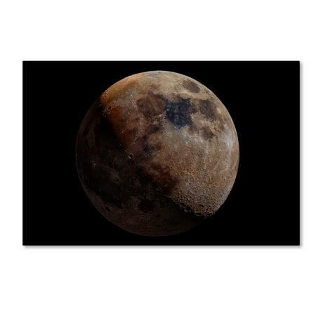 Mineral Art - Trademark Fine Art 'Mineral Moon' Canvas Art by Giancarlo Melis