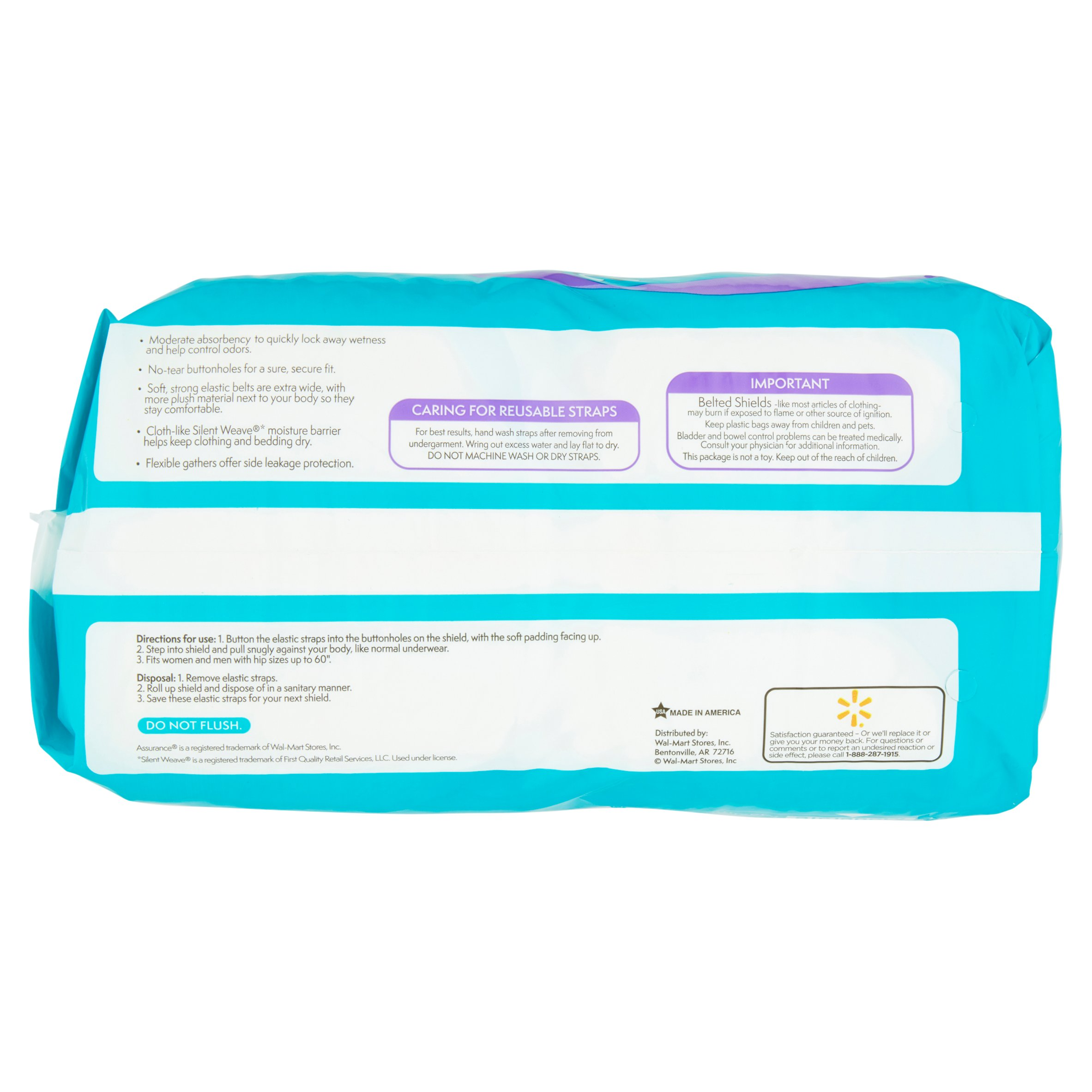 Poise® Moderate Absorbency Pads offer leak-block sides that gives you outstanding protection. Try and see how it works for you.