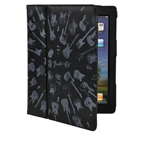 Hal Leonard Contour Design Fender iPad Black Guitar Army Folio Case
