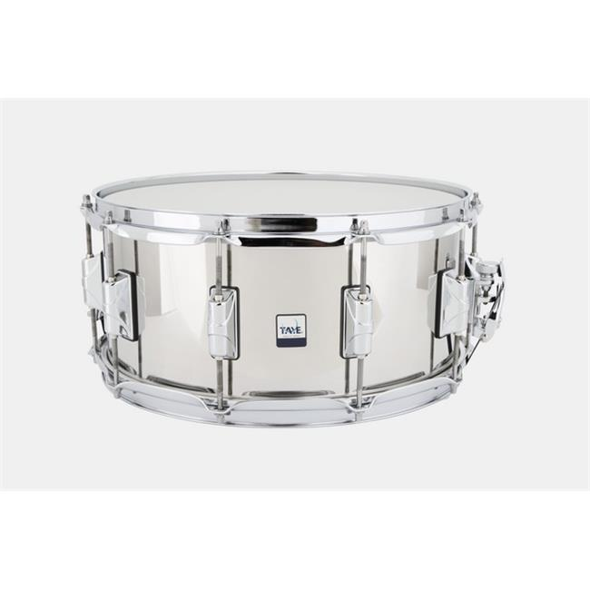 14 x 6.5 in. Stainless Steel Snare Drum by FiveGears