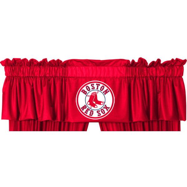 Sports Coverage Inc. MLB Boston Red Sox 88'' Curtain Valance