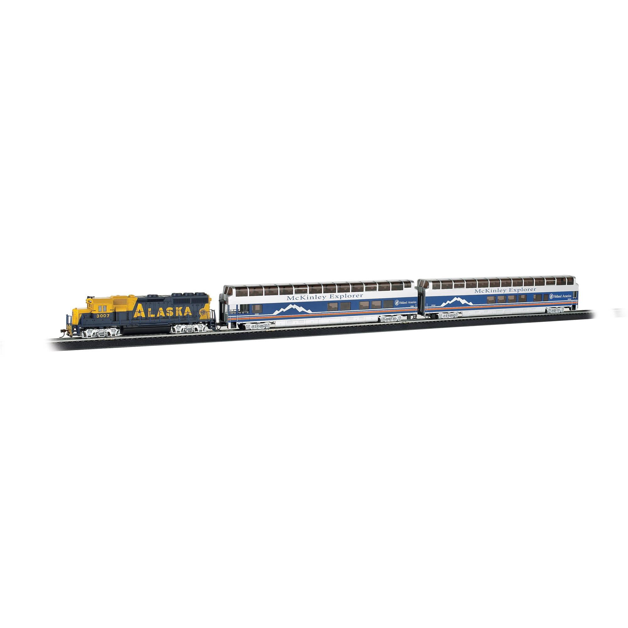 Bachmann Trains Mckinley Explorer HO Scale Ready-To-Run Electric Train Set by Bachmann Trains