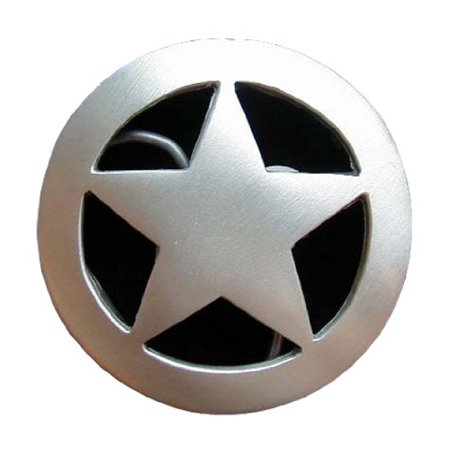 Ranger Star Novelty Belt Buckle (Ranger Belt Buckle)