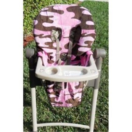 Cleanseat High Chair Cover Pink Camo