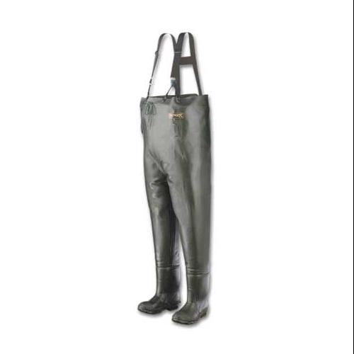 Ranger Size 10 Plain Toe Chest Waders, Men's, Forest Green, A2070 10 by RANGER BY HONEYWELL