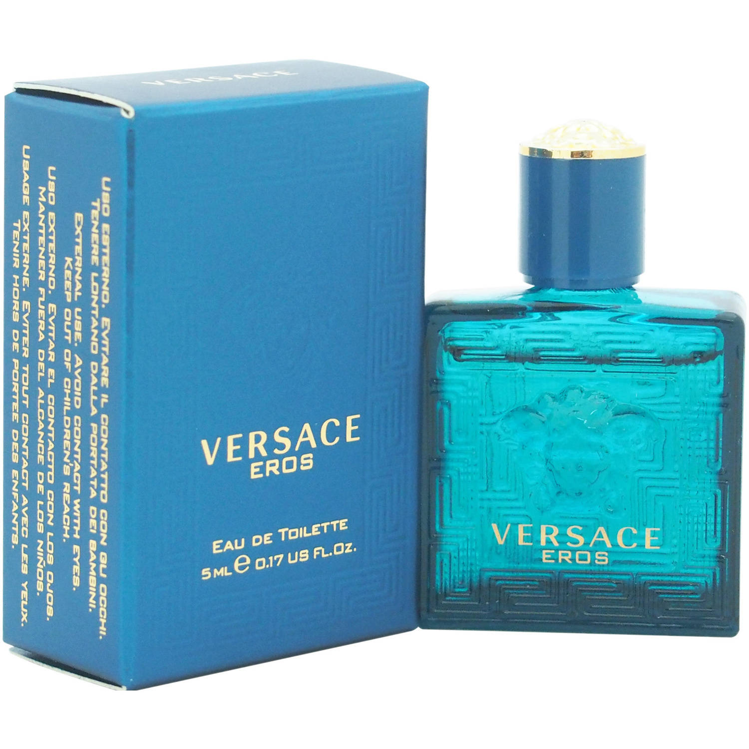 Versace Eros by Versace for Men, 0.17 oz