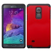 For Galaxy Note 4 Red/Black Hybrid Astronoot Phone Protector Cover Case