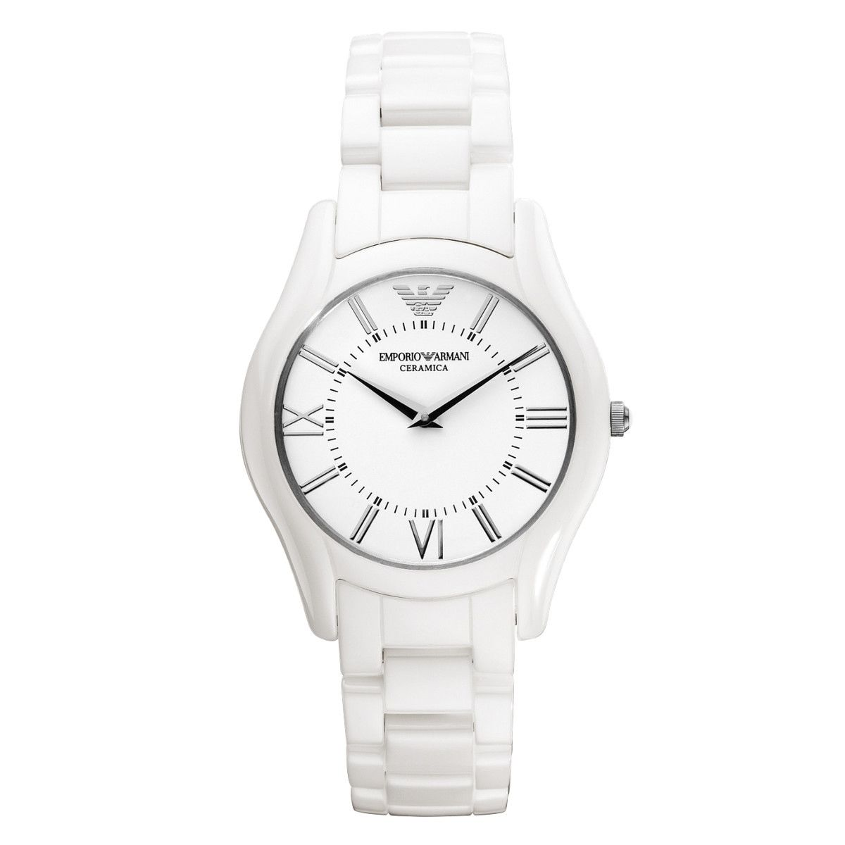 100% Authentic Emporio Armani Women's Super Slim Ceramic ...