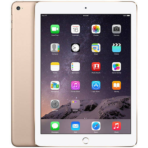 Apple iPad Air 2 16GB, 64GB or 128GB Wi-Fi +Cellular Bonus Ematic 8 in 1 Accessory Kit