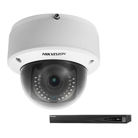Hikvision DS-2CD4165F-IZ with DS-7608NI-E2/8P-1TB NVR Smart IP Indoor Dome  Camera