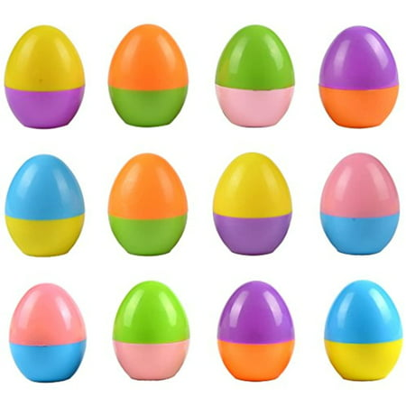 Easter Egg Stampers 12 PCs Great Easter Toys for Easter Eggs Hunt Game, Easter Theme Party, Easter Egg Stuff, Easter Basket Stuffers Fillers, Easter Stamps Gifts, Classroom Prize by TURNADA Toy