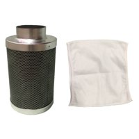 Crucial Carbon Inline Fan and Odor Control Air Filter