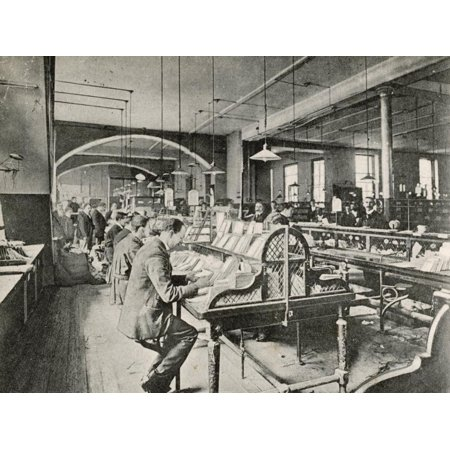 - The General Post Office St. Martin'S-Le-Grand London: Foreign Mail Sorting Room Print Wall Art