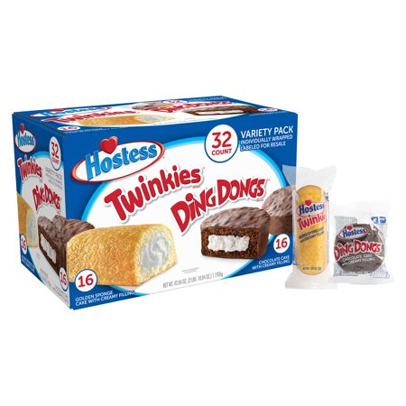 Hostess Twinkies & Ding Dongs Variety Pack (32 ct.)](Walmart Halloween Cakes)