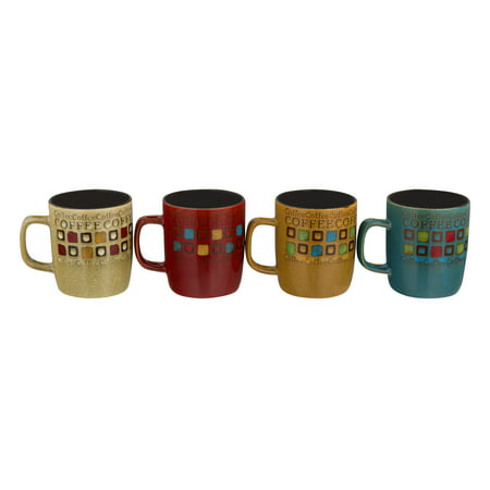 Mr. Coffee Cafe Americano Mugs With Spoons - 8 PC, 8.0 PIECE(S)