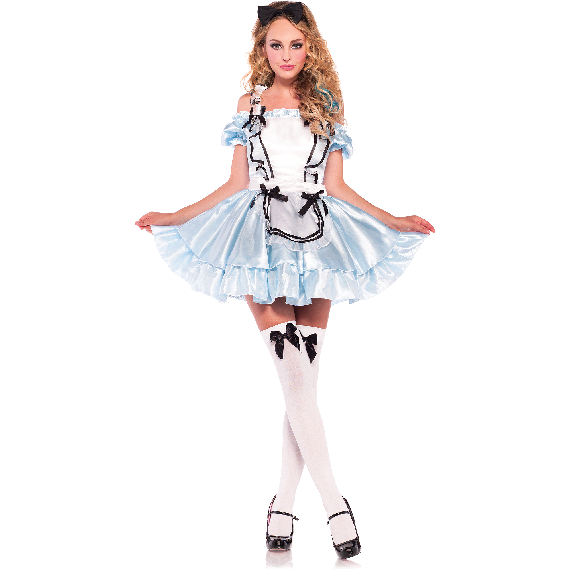 darling alice adult halloween costume walmartcom - Walmart Halloween Costumes For Baby