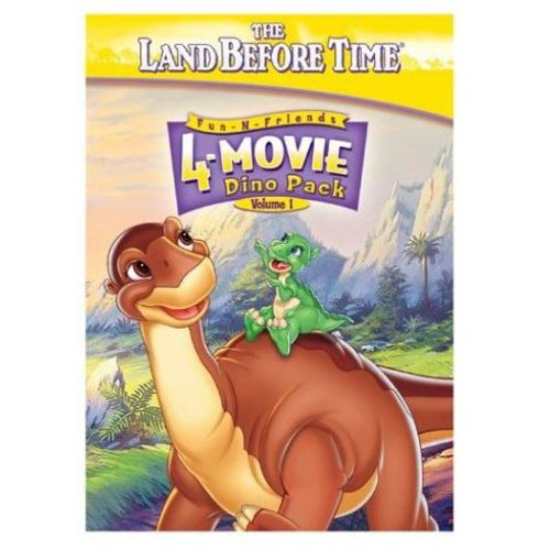 Land Before Time: 4-Movie Dino Pack, Vol.1, The (Full Frame)