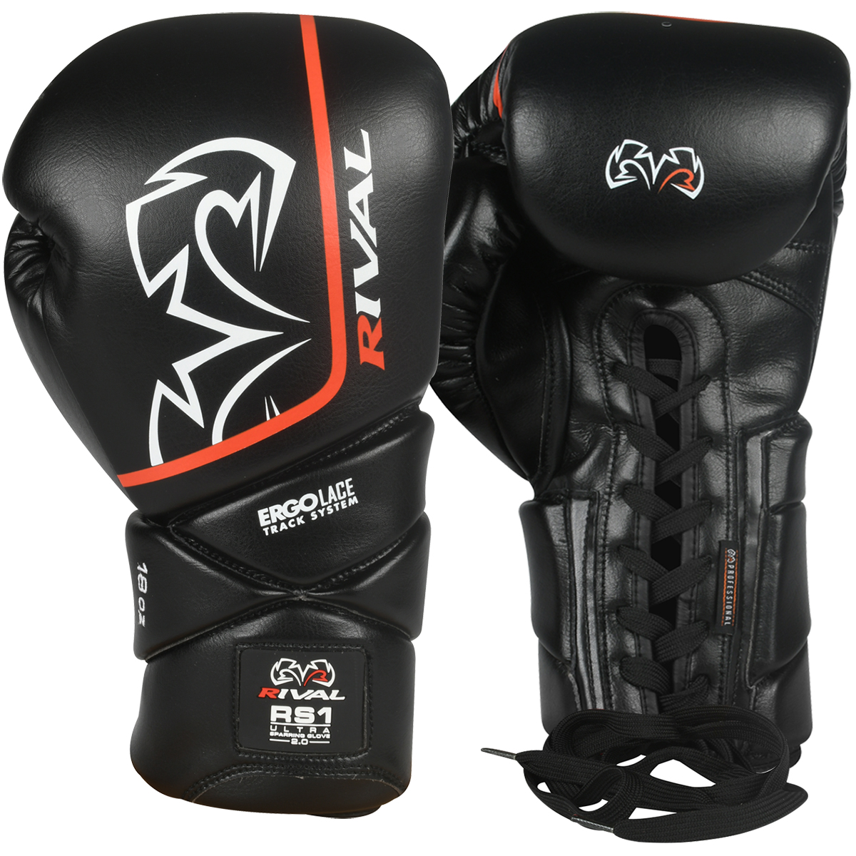 Pro Box Boxing Gloves Signature Series Sparring Training Lace Up