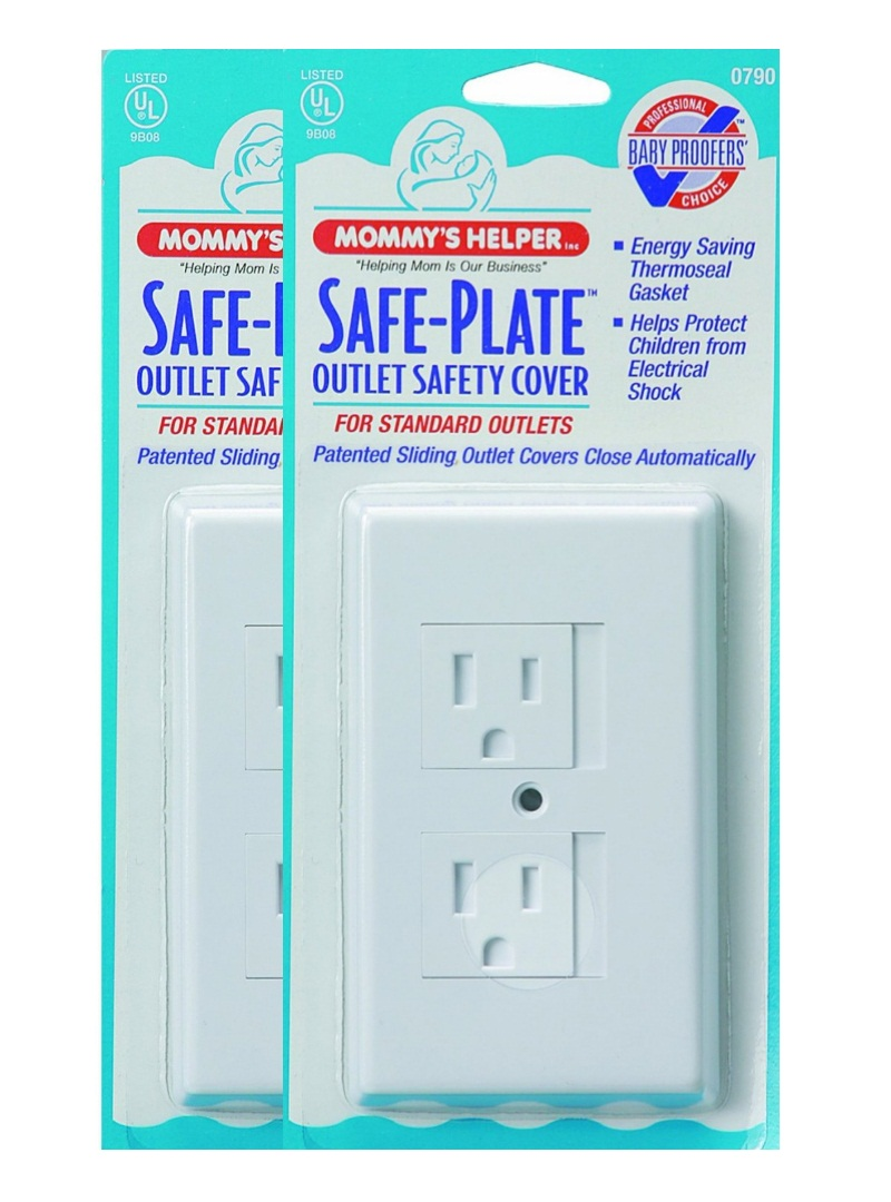 Mommys Helper 25-Pack Bulk Safe Plate Electrical Outlet Covers ...
