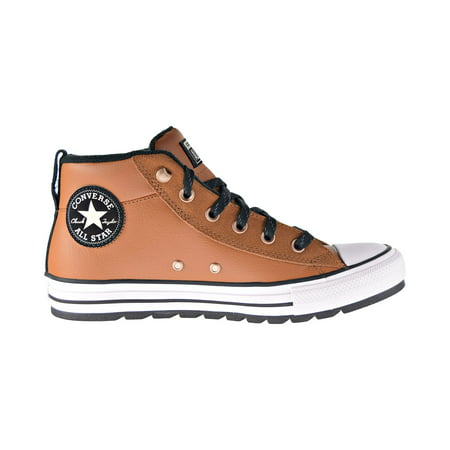Converse Chuck Taylor All Star Street Boot Mid Men's Shoes Warm Tan-White-Black 166073c Converse Mens Hiker