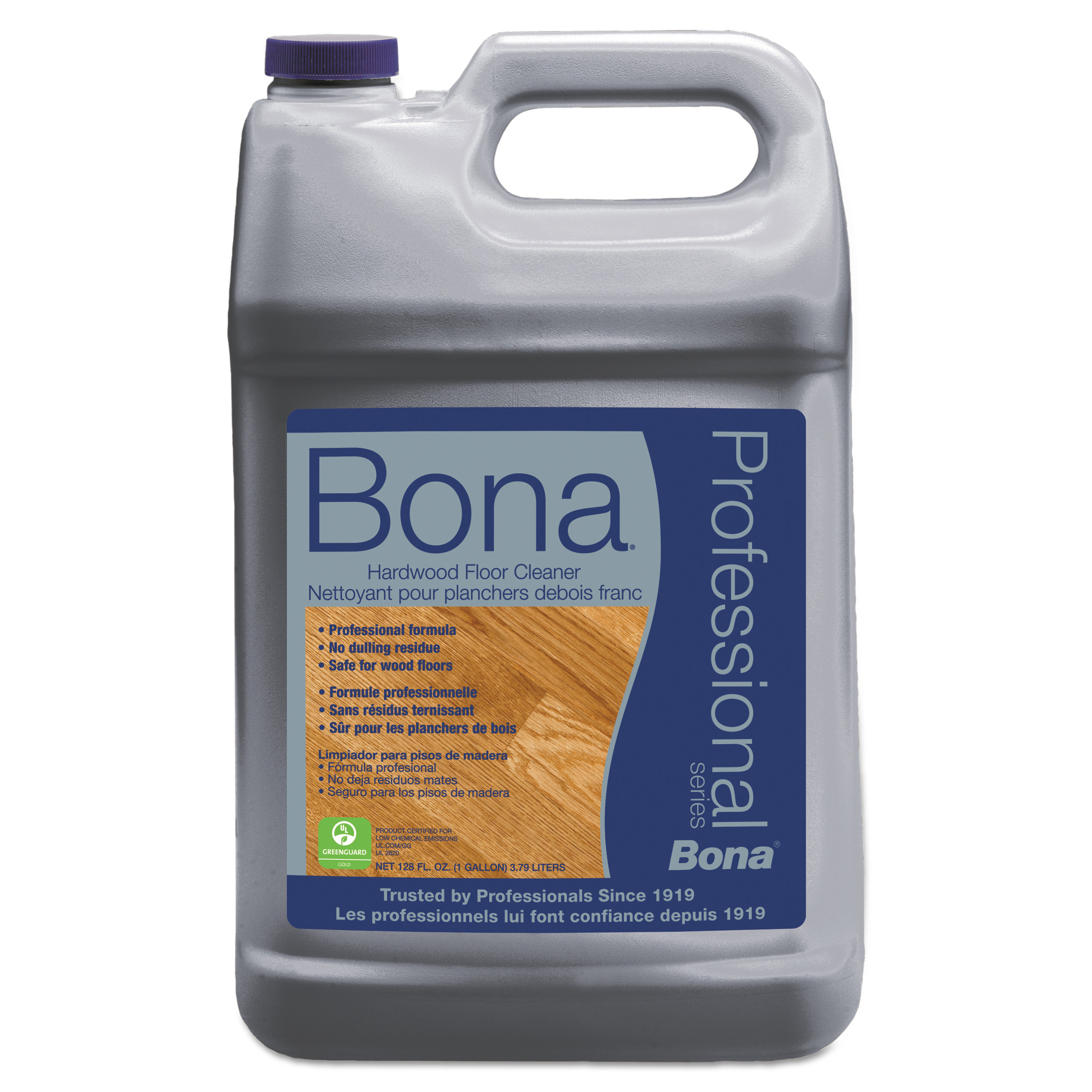 bona hardwood floor cleaner, 1 gal refill bottle - walmart