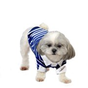 Stellar Pet Boutique Blue Polo Shirt-Extra Extra Small, Pk 2, Nandog Pet Gear