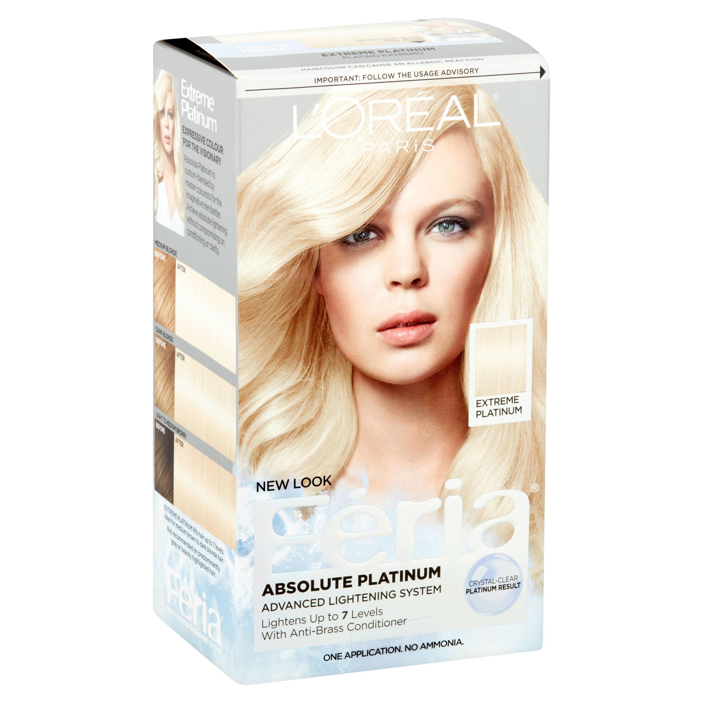 L Oréal Paris Recital Preference Platinum Permanent Hair Colour Feelunique