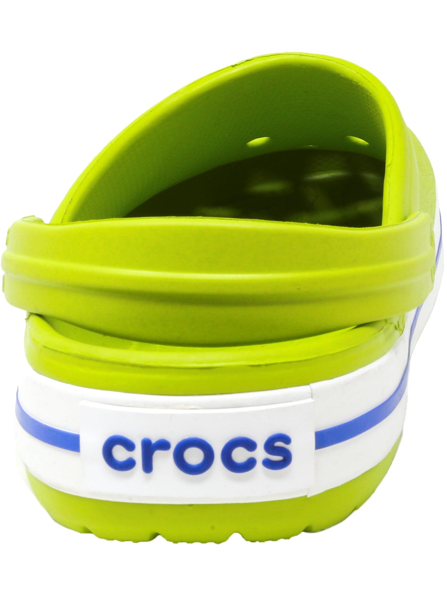 Crocs Men's Crocband Navy Ankle-High Rubber Sandal - 9M