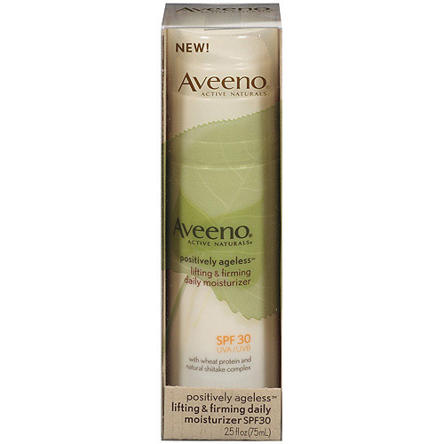 Aveeno Positively Ageless Youth Perfecting Moisturizer with Sunscreen (Broad Spectrum SPF 30), 2.5 fl oz