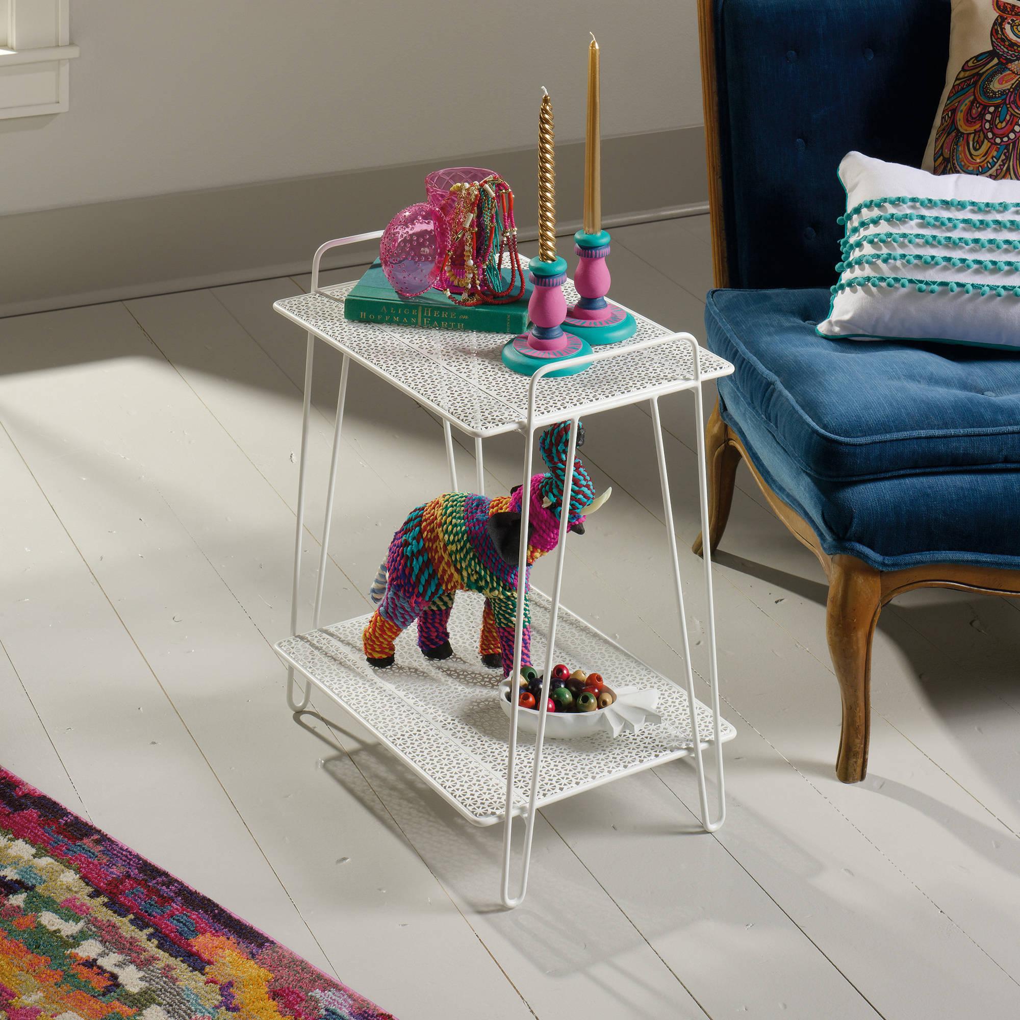 Sauder Eden Rue Modern Accent Table, Multiple Colors
