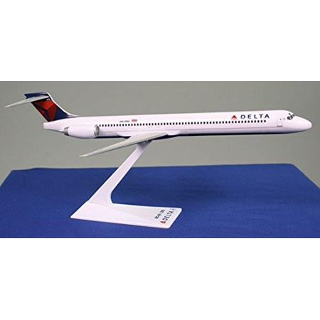 Delta (MD-90) Airplane Miniature Model Plastic Snap Fit 1:200 Part#AMD-09000H-005